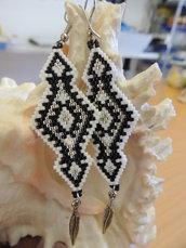 Orecchini Native America - geometrica