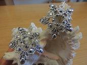 orecchini Frozen argento
