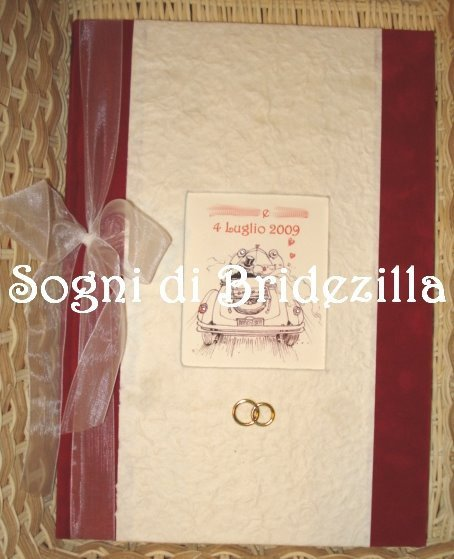 Guestbook libro firme ospiti matrimonio nozze