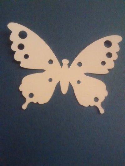 10 farfalle di carta fustellate, confetti per matrimonio
