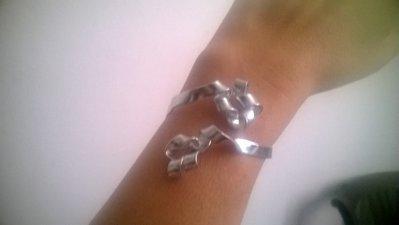 bracciale in alluminio anallergico