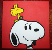 Snoopy & Woodstock - Riproduzione a mano