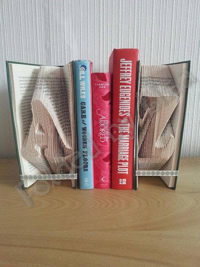 Ferma Libri Decorativi