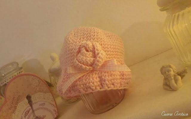 Cappellino baby cloche anni 20