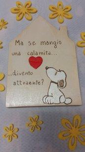 """Casetta in legno """"FUMETTO"""""""