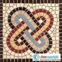 Disegno per mosaico NODO DI SALOMONE