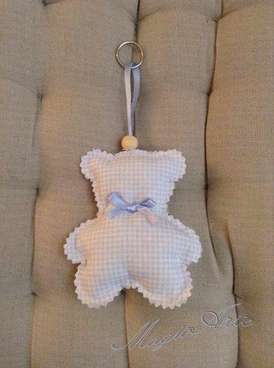 Portachiavi Teddy Bear/Bomboniera/Idea regalo