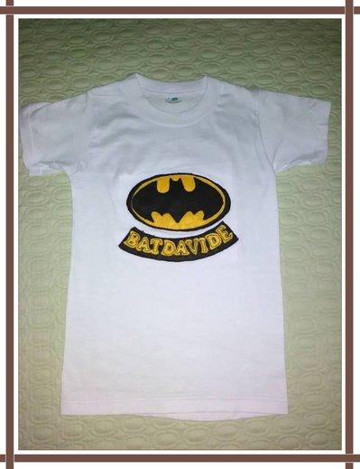 T-shirt Batman in pannolenci