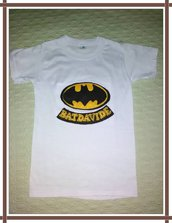 T-shirt Batman in pannolenci