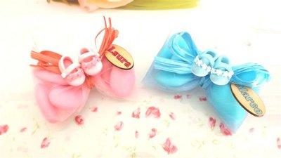OFFERTA PROMOZIONALE FIMO - BOMBONIERE COMPLETE - SCARPINE Con fiorellini   - con sacchettino confetti e in OMAGGIO targa con nome