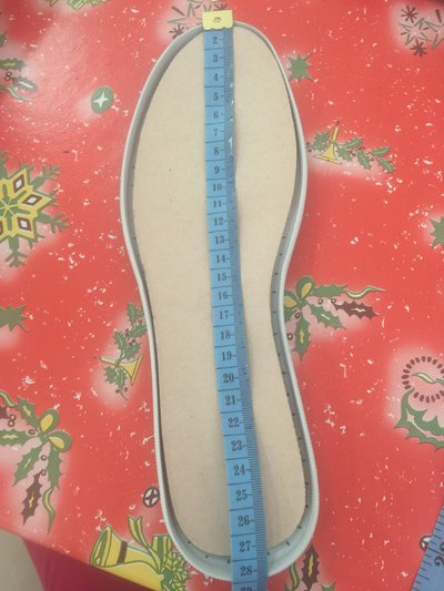 Gomma per scarpe all'uncinetto Made in Italy