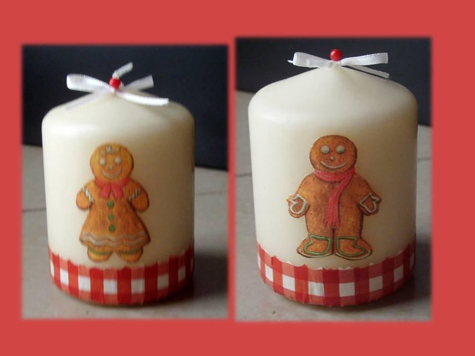 Candele natalizie Gingerbread Regalo di Natale