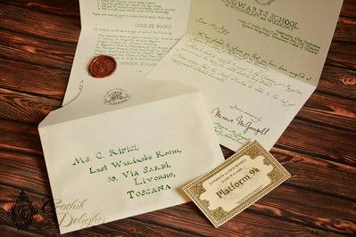 Lettera d'ammissione a Hogwarts SCRITTA A MANO, di Harry Potter o personalizzata! Versione Film