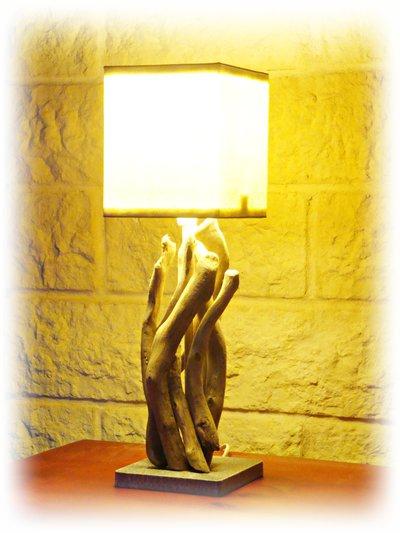 PETRA lampada con legni mare
