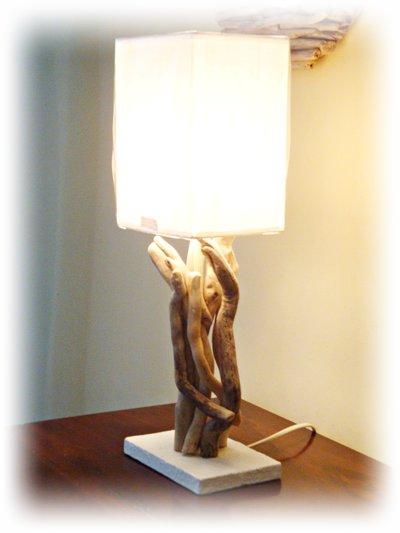 BRIGIT lampada con legni mare