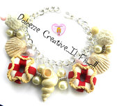 Bracciale Estate - Salvagente, conchiglie, perle e pietre - idea regalo kawaii