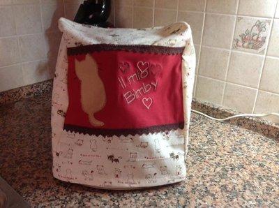 copri bimby personalizzato con gattini.