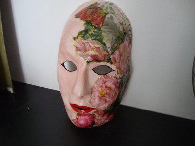 maschera,cartapesta
