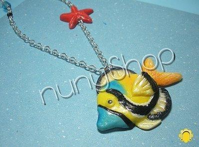 Collana Pesce Tropicale