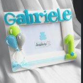 Cornice personalizzata primo compleanno