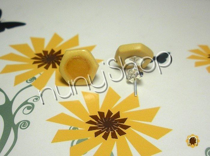 Orecchini (perno) Honeybees