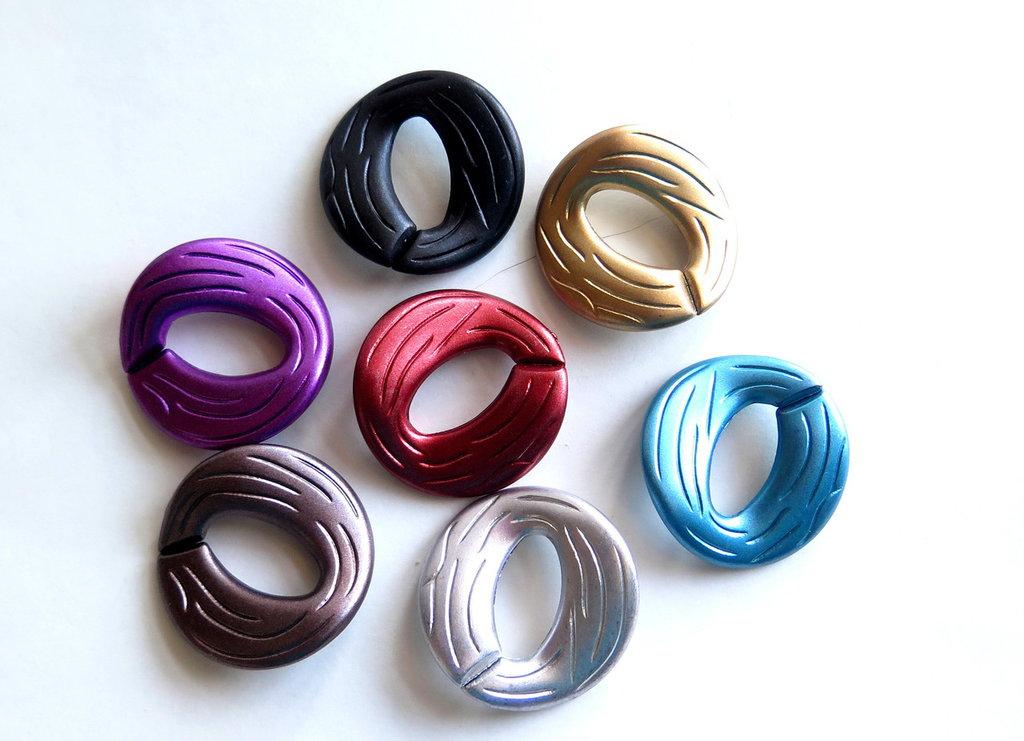 8 Connettori di plastica aperti MIX CNT61