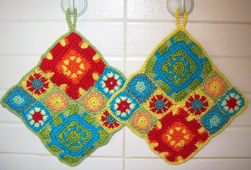 Presine patchwork colorate