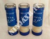 3 Shot da Bottiglia vuota di Vodka Grey Goose Shortino bicchiere