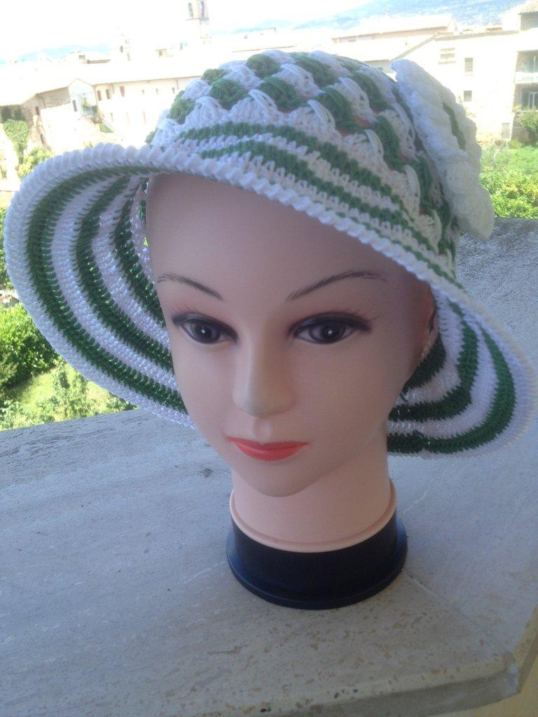 Cappelli in Cotone colorato per Signore/ine