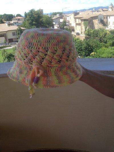 Cappelli in Cotone colorato/ Bambine