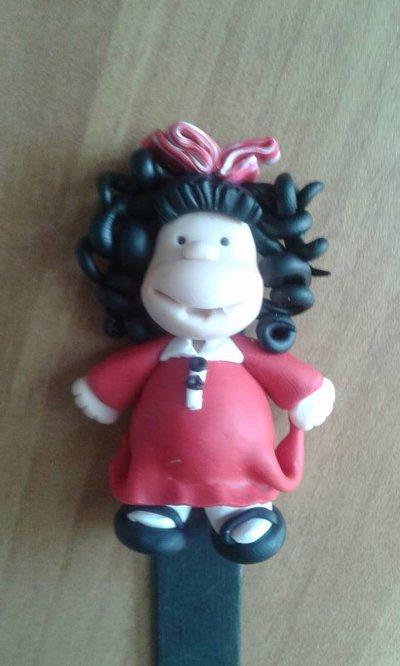segnalibro Mafalda su stecco