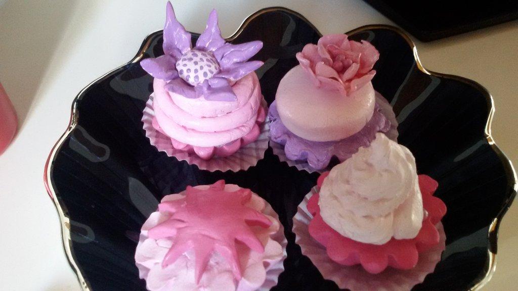 Cupcake da usare come segnaposto e/o bomboniera