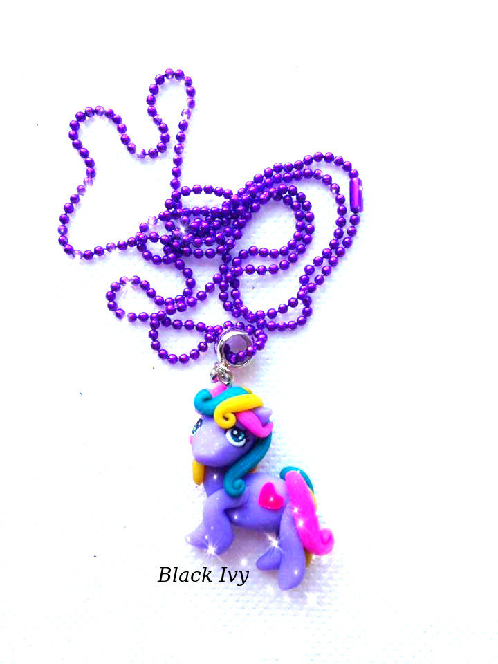 Collana pony in fimo