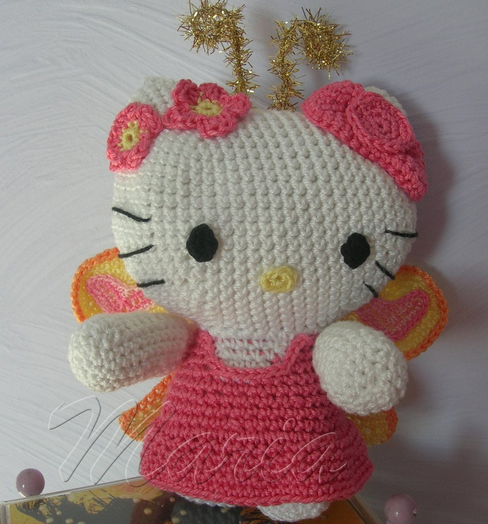 Hello kitty farfalla