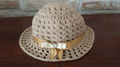 cappello cerimonia bambina