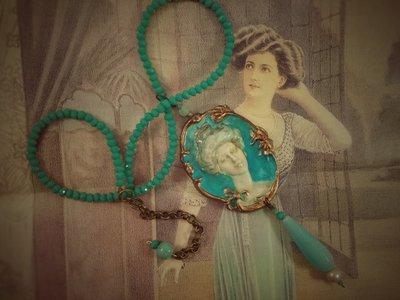 Dama turchese Liberty