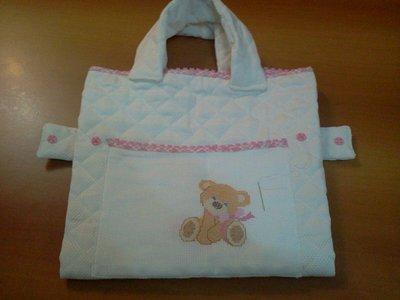 Borsa fasciatoio neonato trapuntata