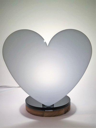 lampada da tavolo plexi