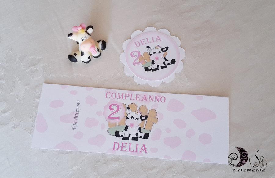 set Portaconfetti milk box primo compleanno bimba gadget + etichette