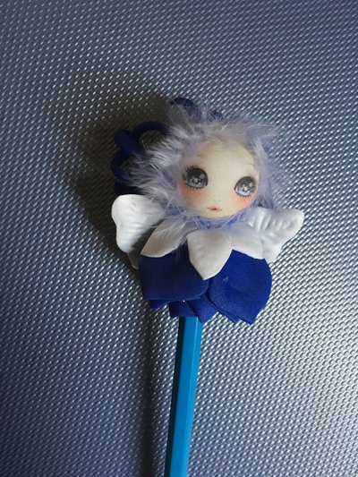 Matita con fatina blu portafortuna