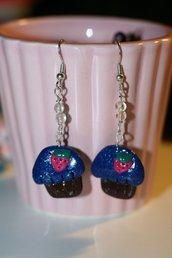 orecchini cupcake