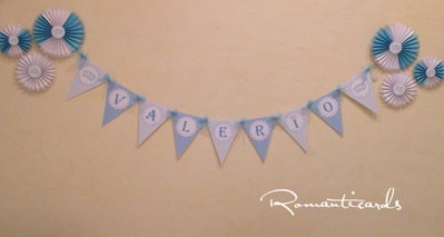 Banner e decorazione per eventi by Romanticards