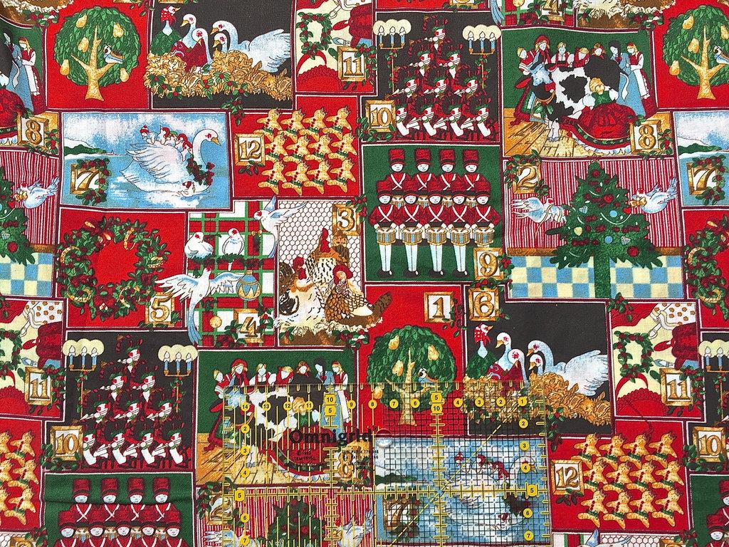 Stoffe Di Natale Americane.Tessuti Americani Per Realizzazioni Patchwork Natale