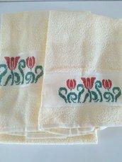 Set asciugamani giallo