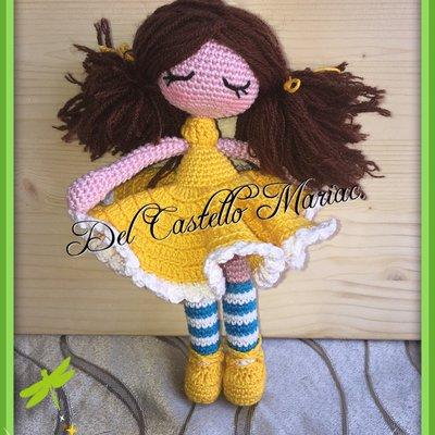 Doll Rose Amigurumi