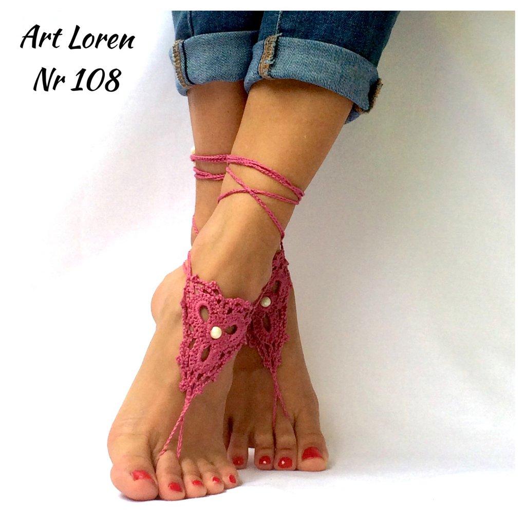 Bracciali per i  piedi - set ha 2 coppie di stringhe