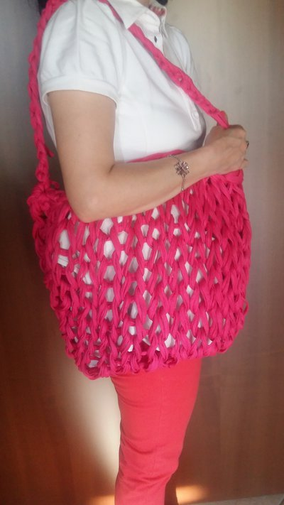 BORSA MARE ARM KNITTED