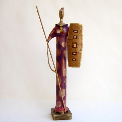 La guerriera Masai