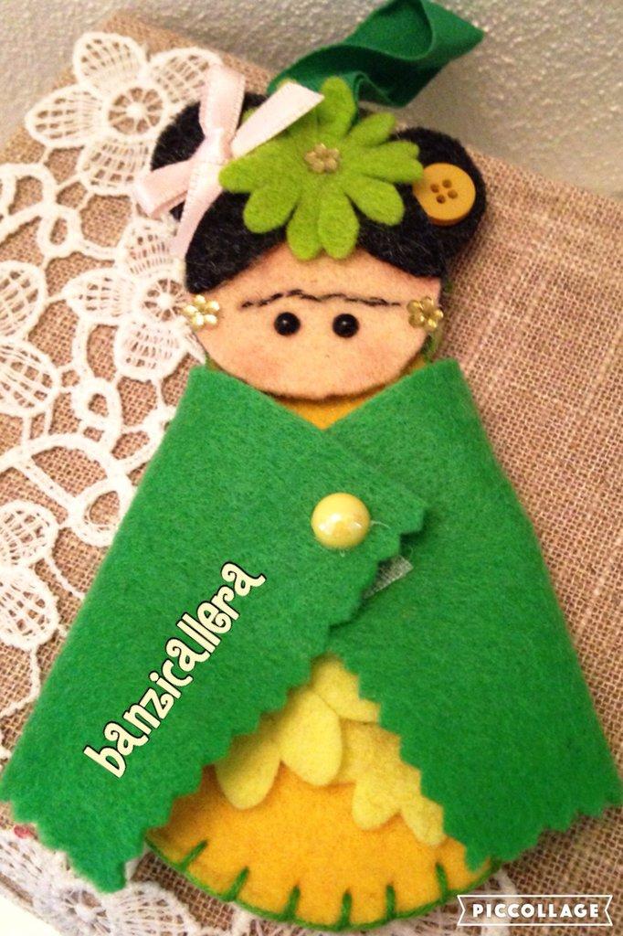 Portachiavi Frida Kahlo