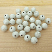 30 Perle 10 mm Stardust col. argento